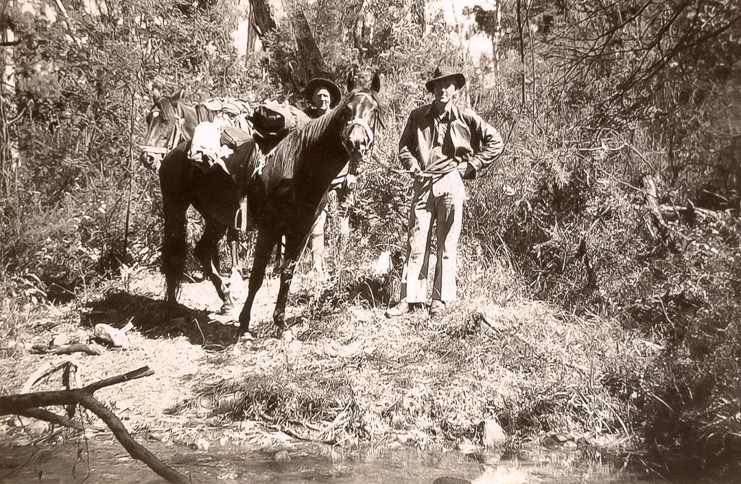 Jim Chester Draper, pictured left.  He was described by contemporaries as a superb horseman