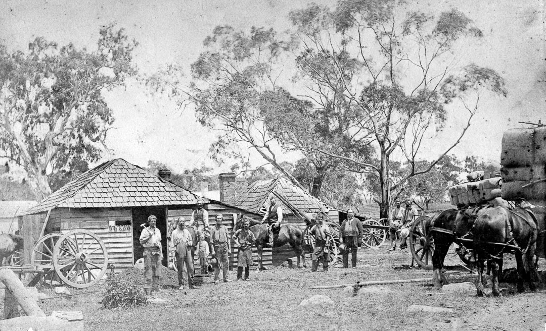 Cockerells Forge at Mernda.  In rural areas, the local Blacksmith exercised both town and country skills. Great innovation and skill was often shown in the development and manufacture of a diverse range of agricultural equipment able to meet the practical needs of local farmers