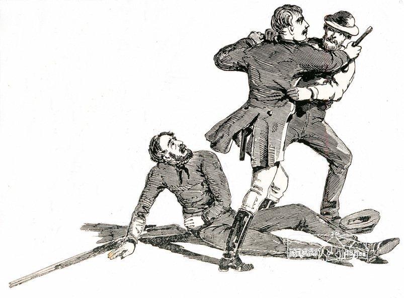 Capture of Burke, the Bushranger.  The Melbourne Post 22 November 1866. http://trove.nla.gov.au/version/182153835 Shire of Eltham Pioneers Photo Collection