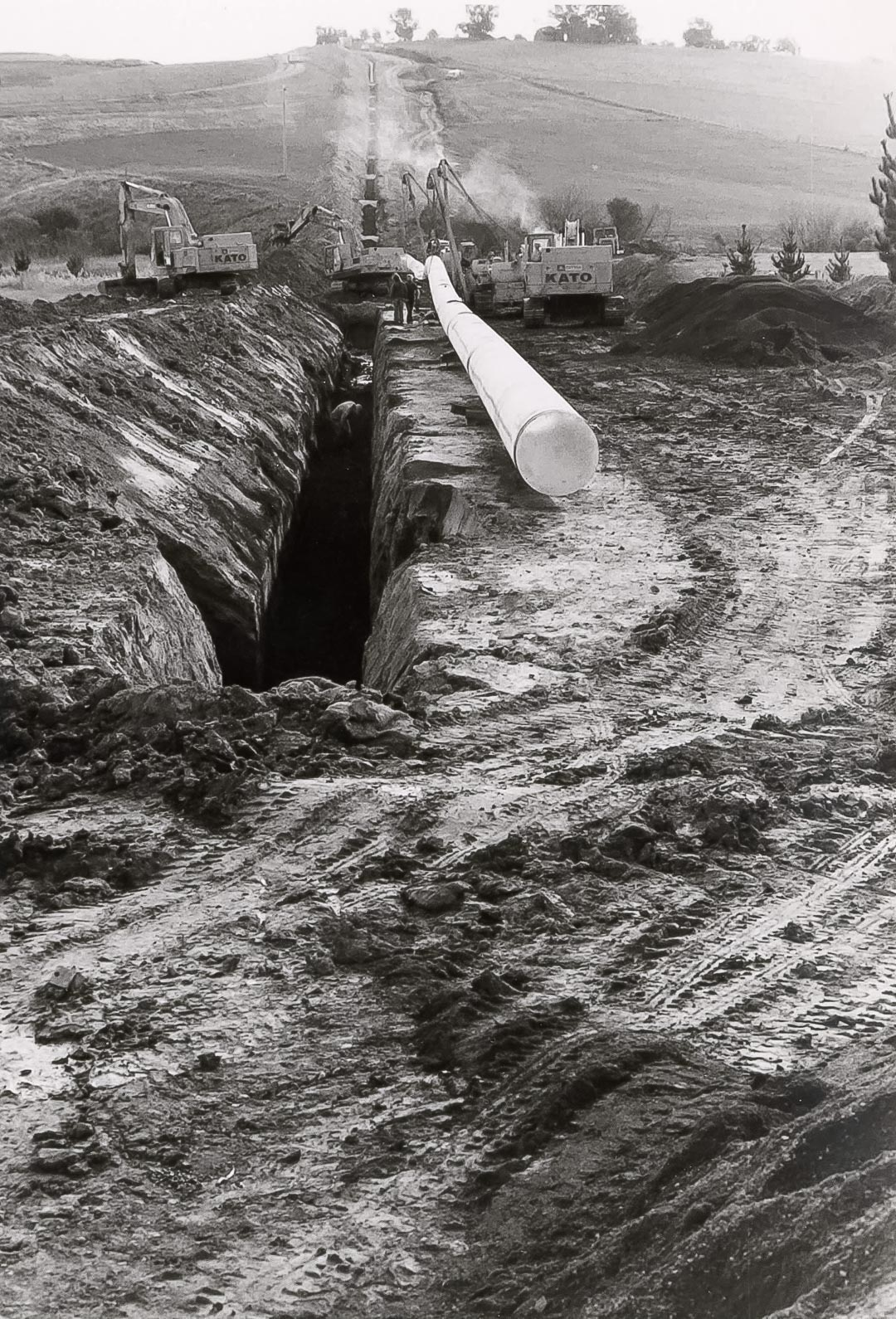 On 4 May 1990, the flat area of 3.524 hectares along the Arthurs Creek was purchased by the Melbourne & Metropolitan Board of Works, to provide an easement for access to the Gas and Fuel Corporation's high pressure gas line
