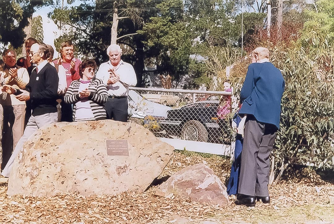 On Sunday 20th September, 1987, a plaque was unveiled celebrating 100 Years of Community Involvement at Arthurs Creek Hall from 1887 to 1987