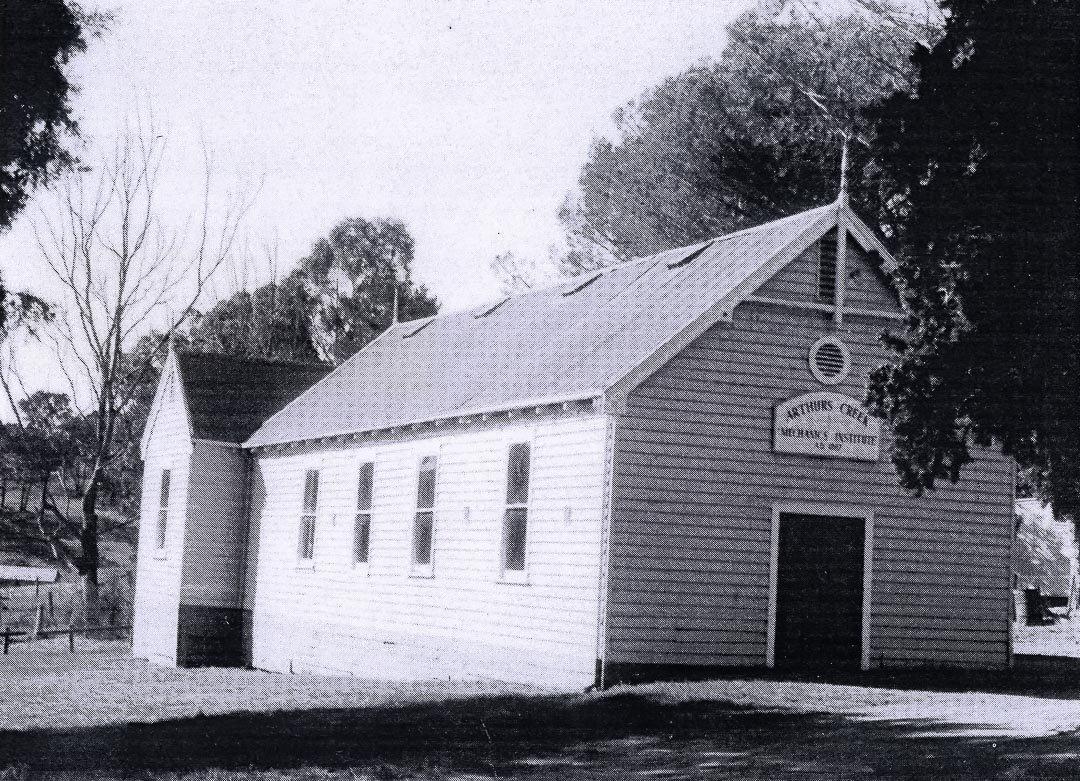 Arthurs Creek Mechanics' Institute Hall, 1950s