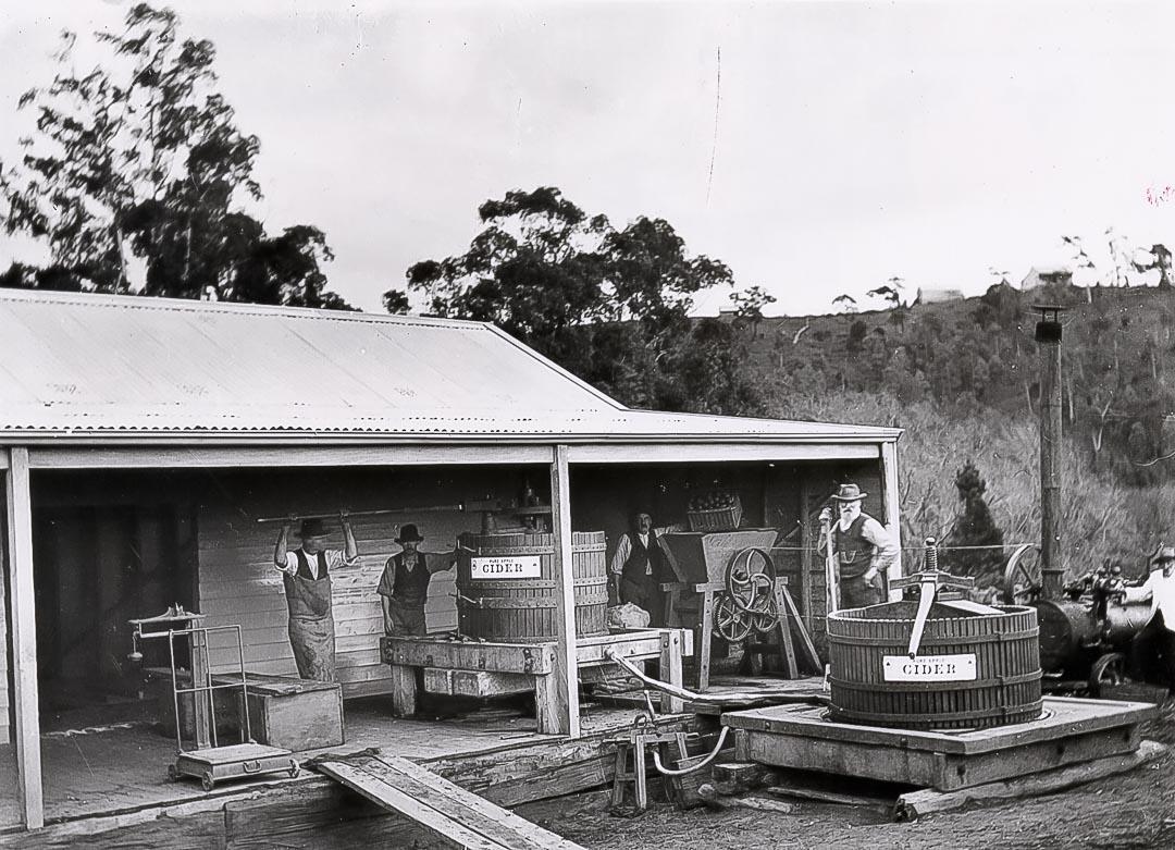 Gray's cider press at Nutfield