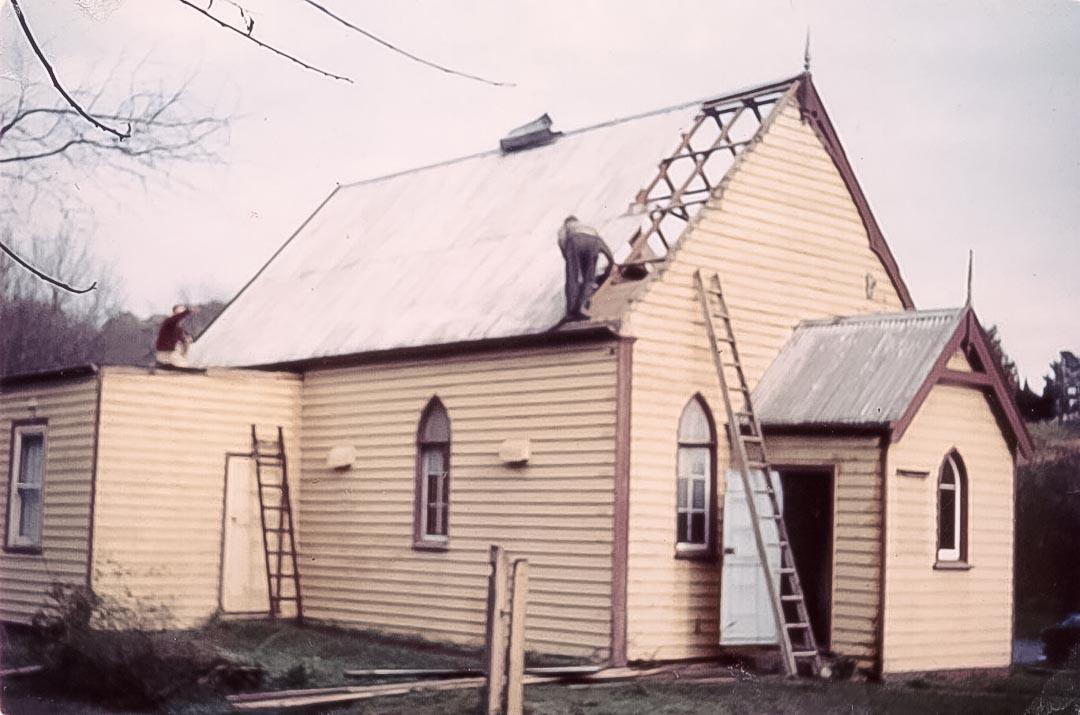Arthurs Creek Methodist Church 1960s