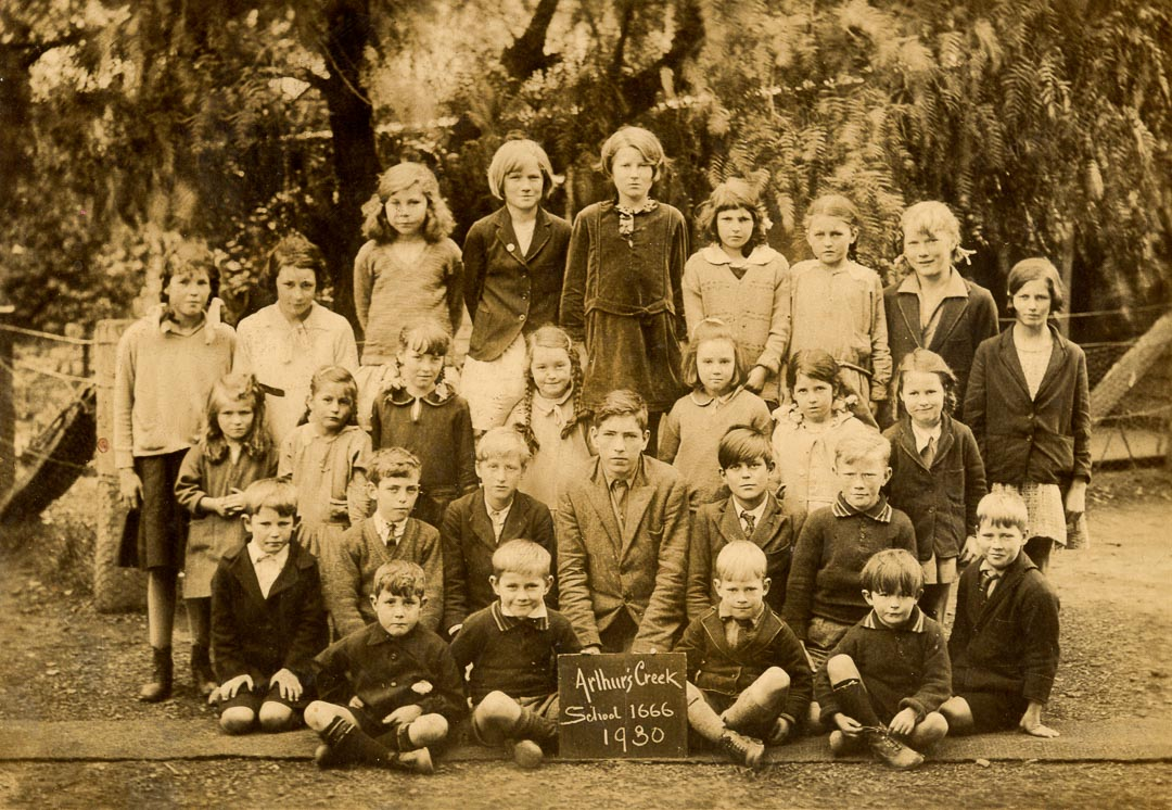 Arthurs Creek School 1666, 1930