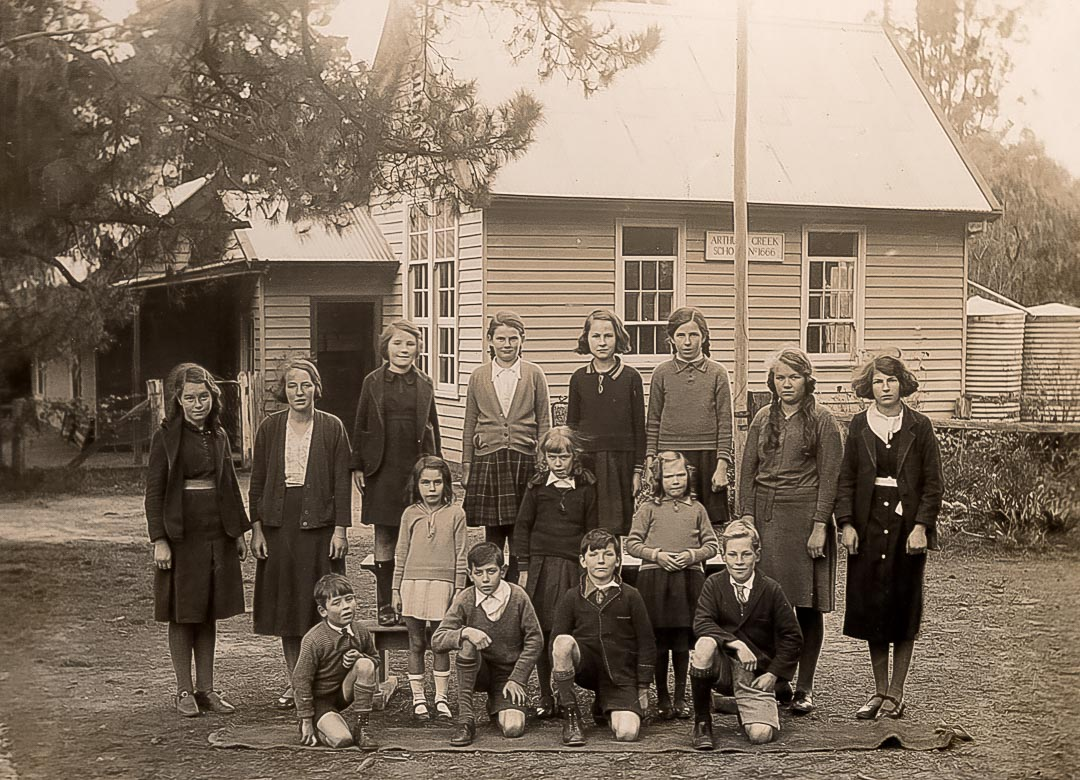 Arthurs Creek Primary School, c 1935