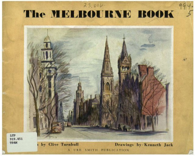 The Melbourne Book, drawings by Kenneth Jack