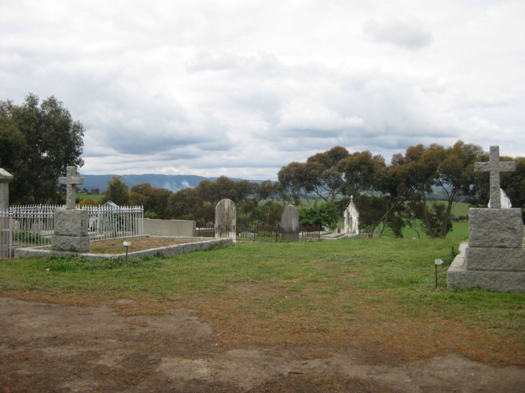 View to the South, Arthurs Creek Cemetery