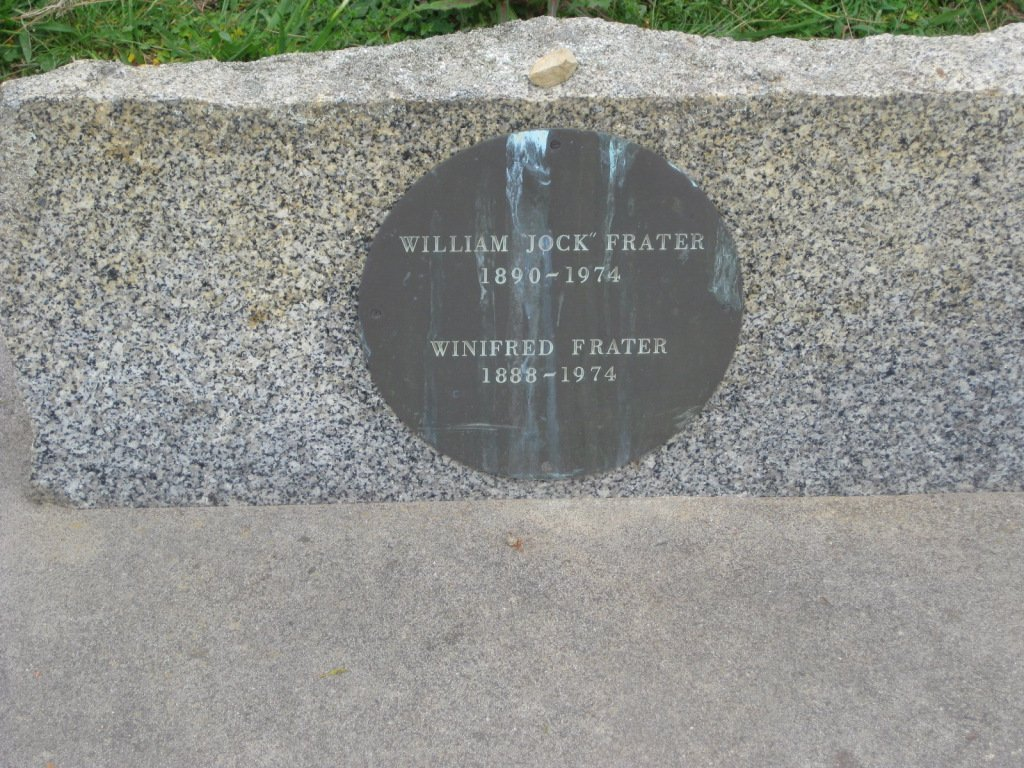 William 'Jock' Frater, died 1974 and Winifred Frater, died 1974