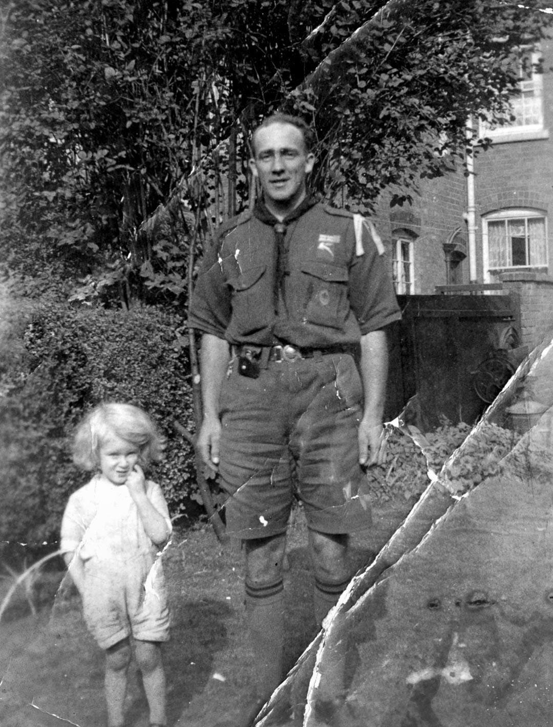 James Chester Draper (1905-1998) in England, 1930s