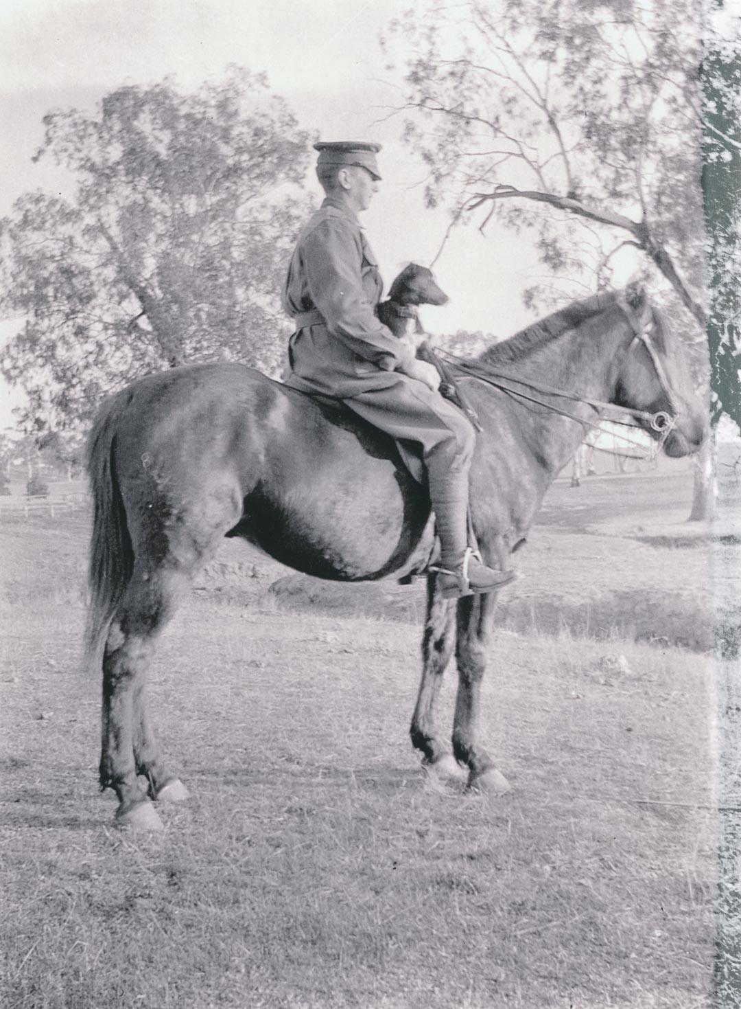 Mounted trooper, WW1