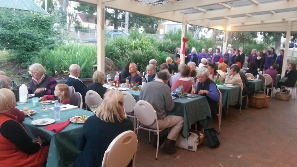 In December 2013 the Arthurs Creek District Landcare Group held its end of year event at the Arthurs Creek Mechanics Institute, with a talk by guest speaker Bruce G. Draper about the late Arthurs Creek resident, Frank Dalby Davison, and performances by the Chocolate Lilies Choir