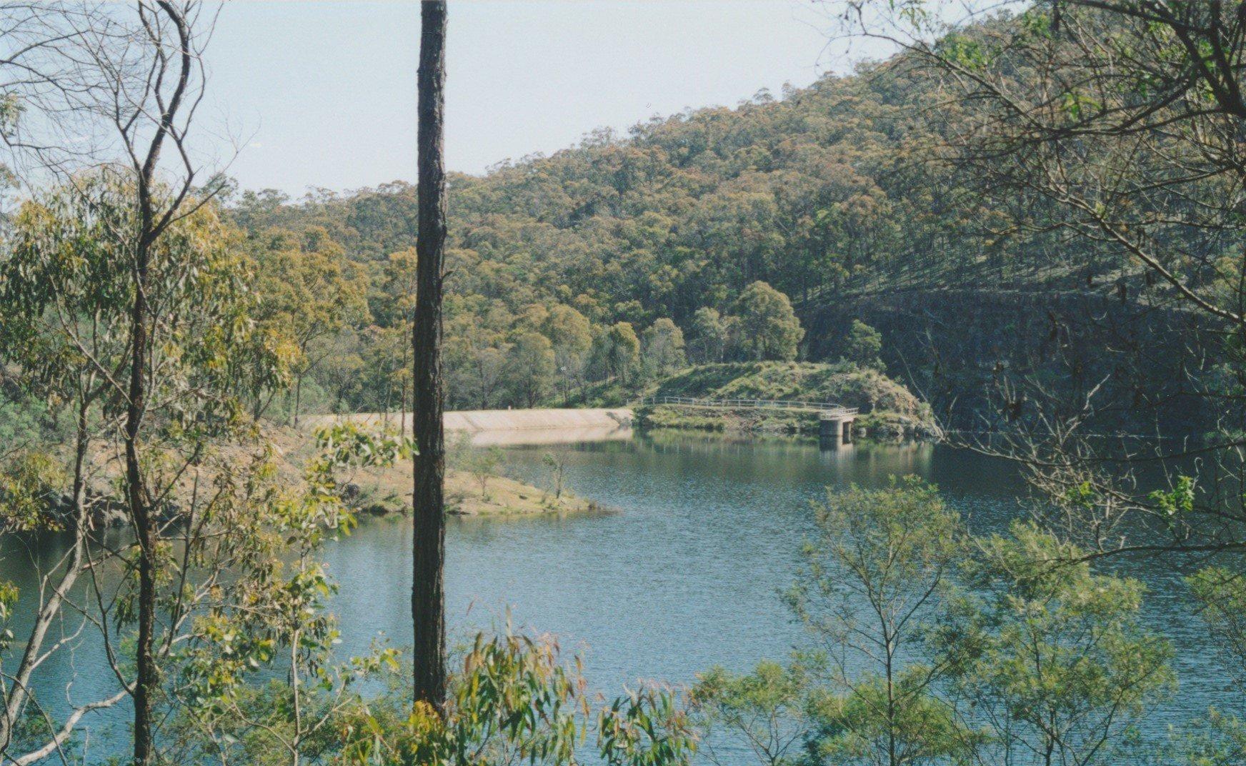 Sugarloaf Reservoir on the Running Creek above Streamville, 2003