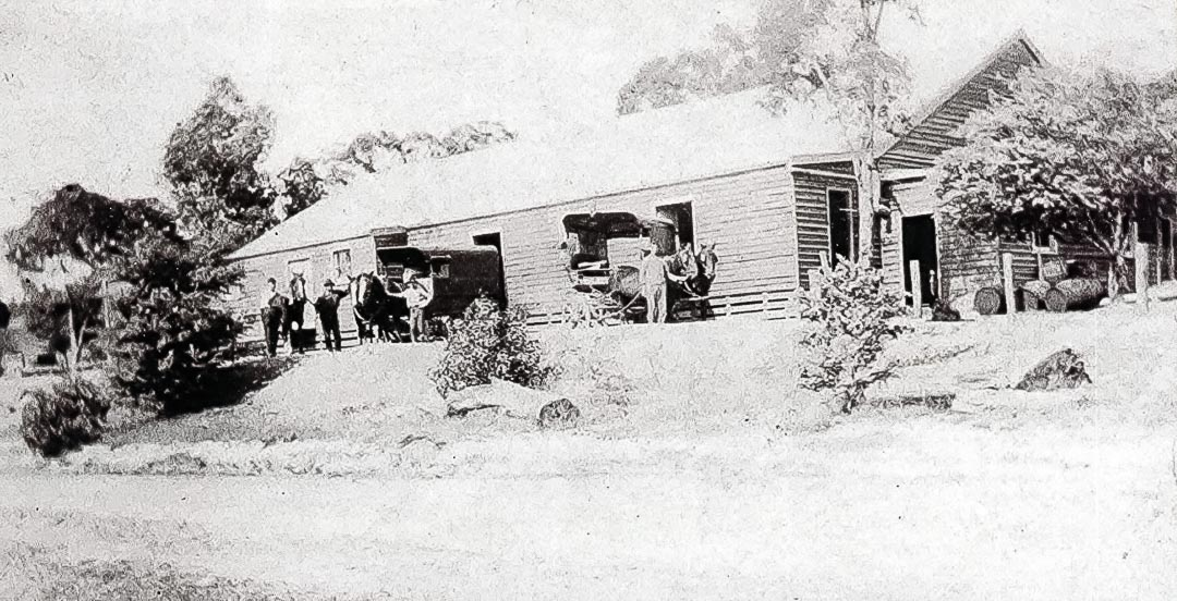 The original Apted 'Glen Ard' coolstore, 1920
