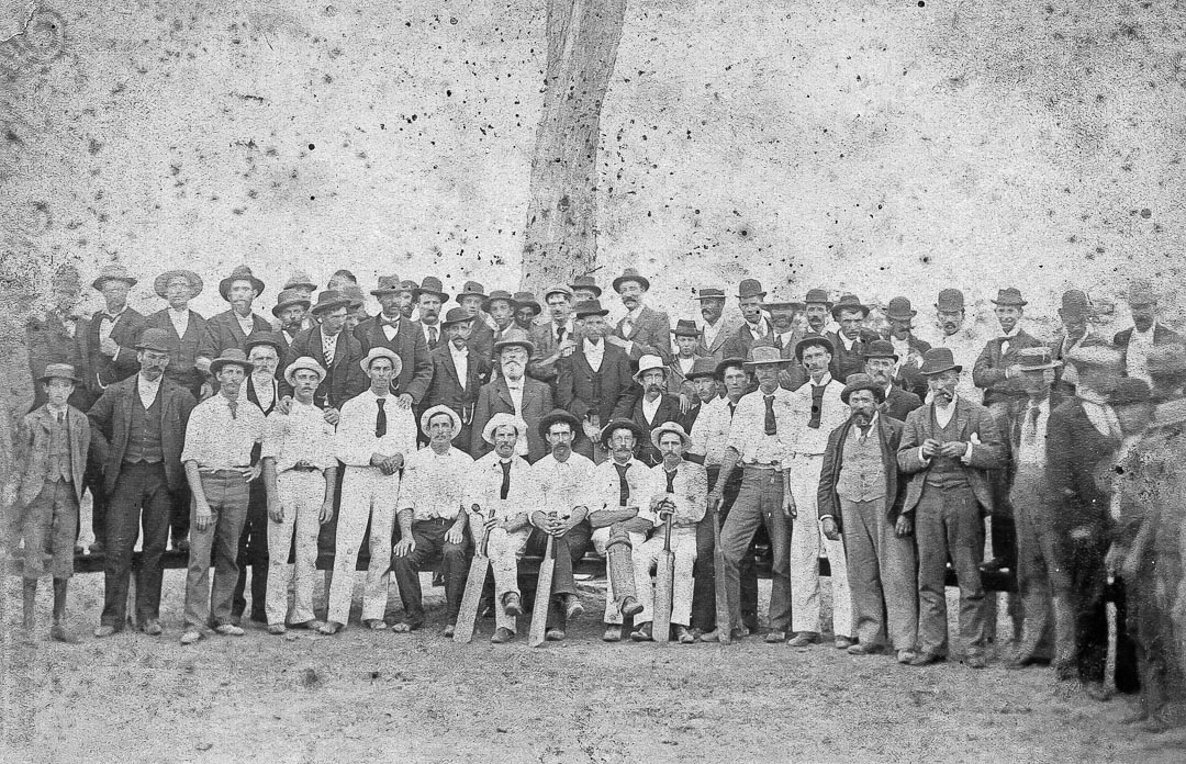 County Cricket Match c 1890s