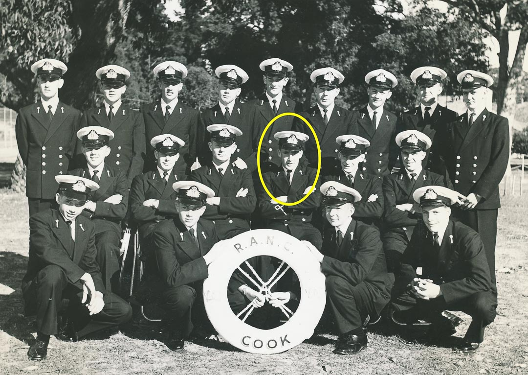 Bruce was appointed Cook Division Cadet Captain in 1959
